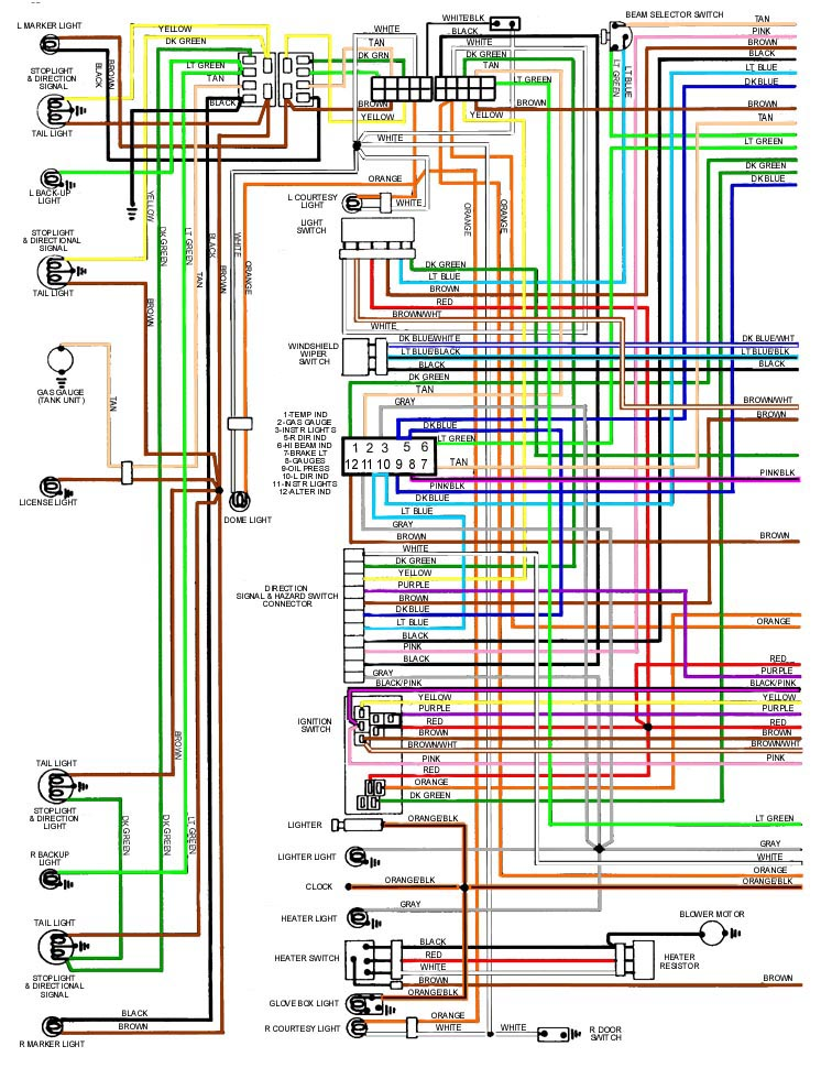 69 Wiring 2: 1965 Pontiac Lemans Wiring Diagram At Satuska.co