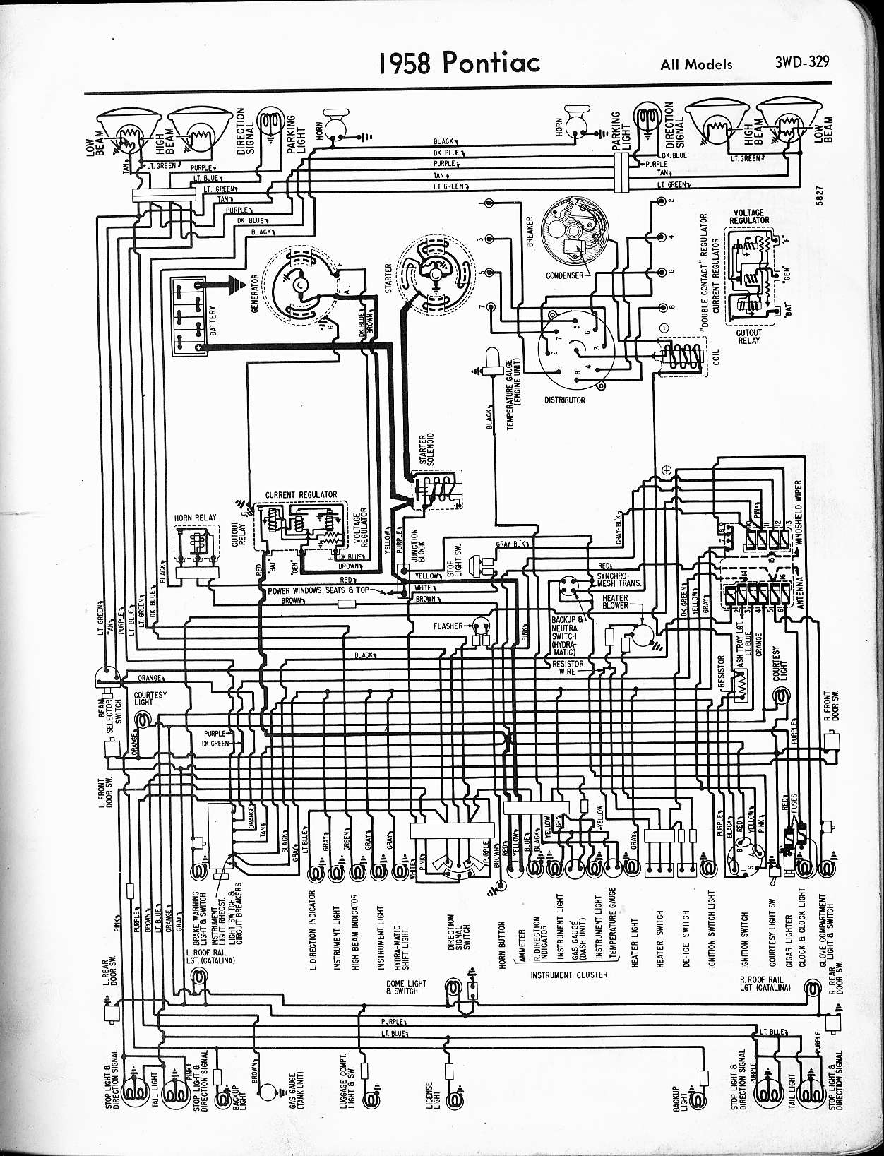57 pontiac chieftain wiring horn diagram wiring diagram u2022 rh championapp co Pontiac Sunfire Starter Wiring Diagram 1970 Firebird Wiring Diagram