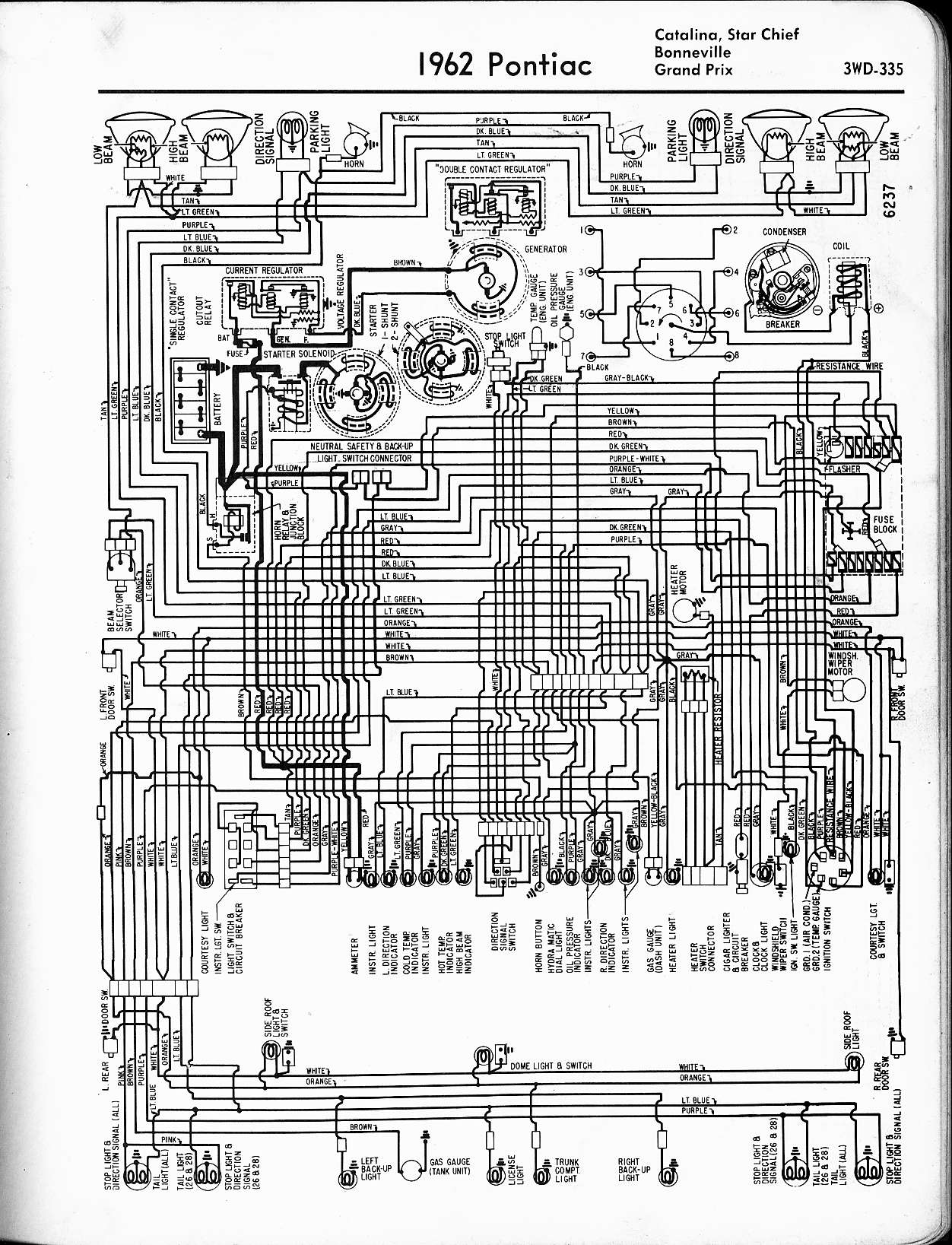 Pontiac Convertible Wiring Diagram - free download wiring diagrams ...