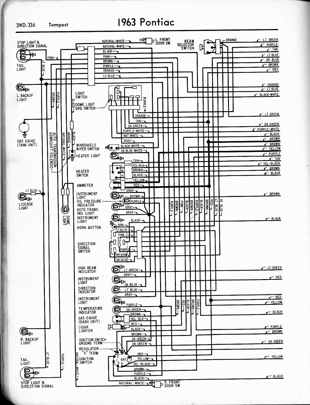 Wiring Diagram For 1963 Pontiac | Wiring Diagram on 1963 pontiac exhaust system, 1963 pontiac interior, 1963 pontiac transaxle, 1963 pontiac quarter panels,