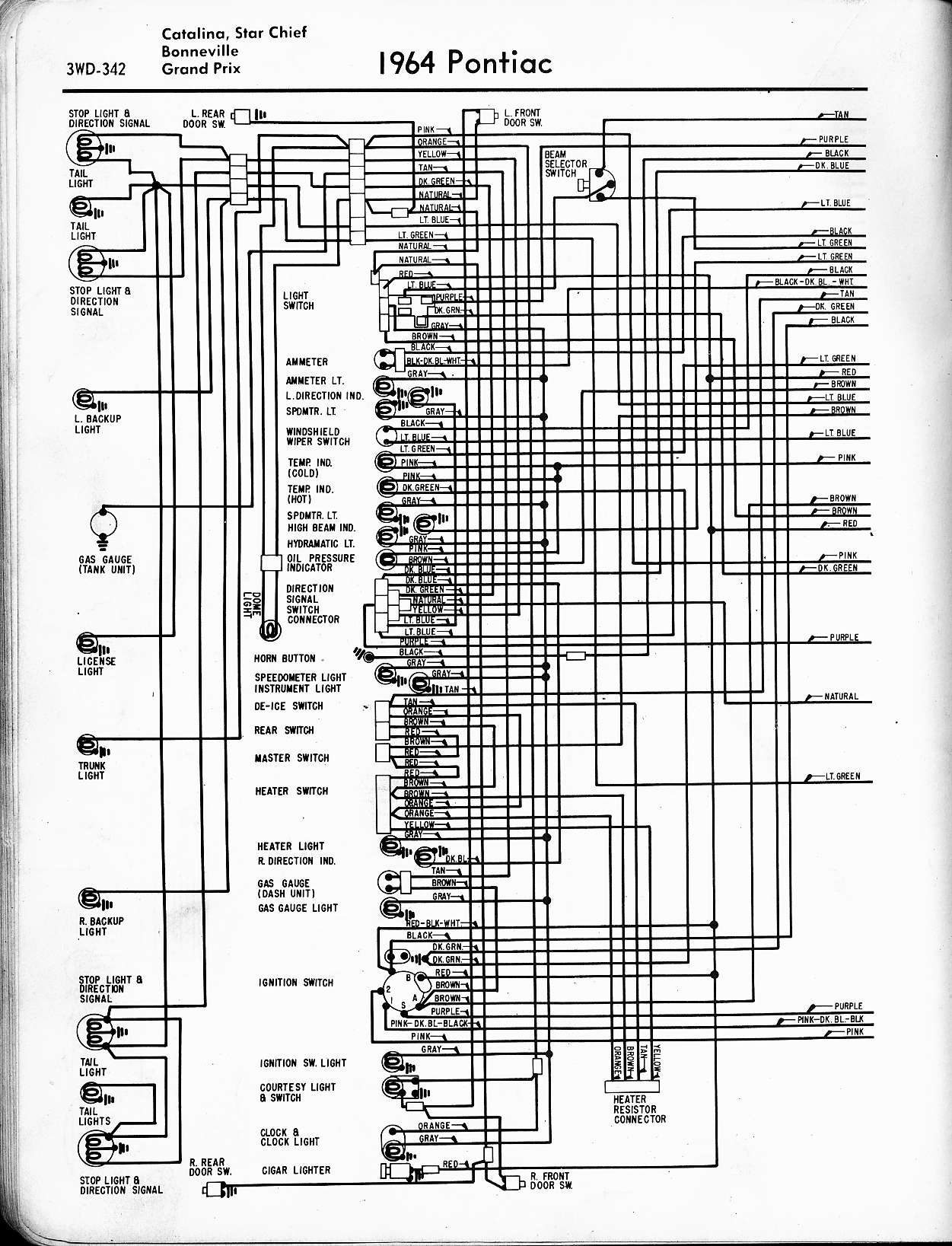 Headlight Switch Wiring Diagram 73 Charger Library 2006 Grand Prix Fuse Box 1970 Pontiac Just Data